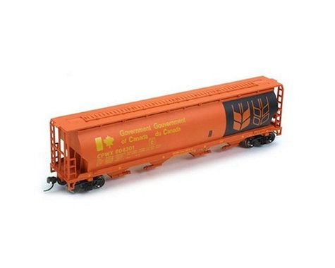 Bachmann Government of Canada Cylindrical Grain Hopper (Red) (HO Scale)
