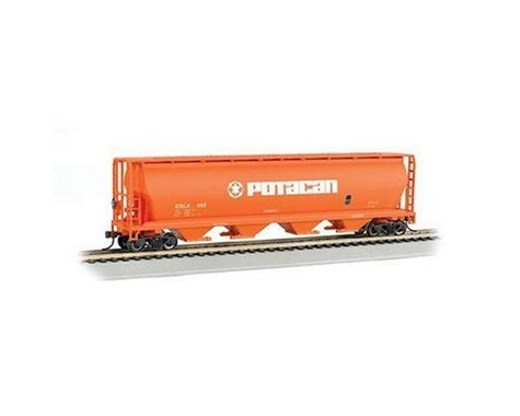 Bachmann Potacan 4-Bay Cylindrical Grain Hopper (HO Scale)