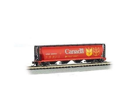 Bachmann Canada Grain 4-Bay Cylindrical Grain Hopper (N Scale)