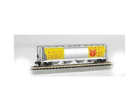 Bachmann Government Of Canada 4-Bay Cylindrical Grain Hopper (N Scale)