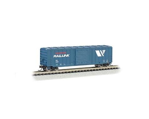 Bachmann Montana Rail Link ACF 50.5' Outside Braced Box Car (N Scale)