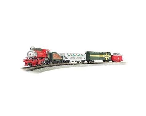 Bachmann Merry Christmas Express Train Set (N Scale)