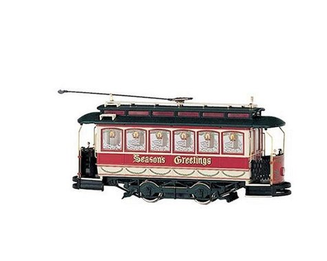 Bachmann Christmas Closed Streetcar (On30 Scale)