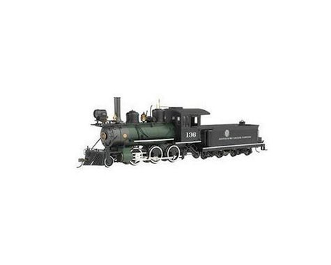 Bachmann Denver & Rio Grande Western #136 (Black/Green) (On30 Scale)