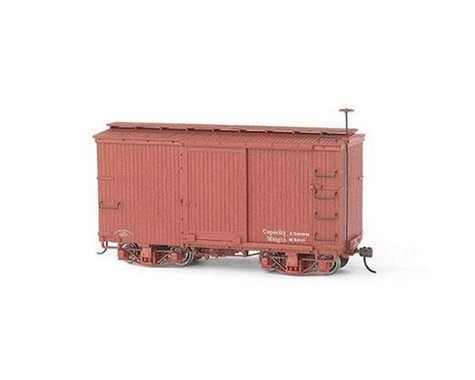 Bachmann 18ft Box Car (Oxlide Red) (2) (On30 Scale)