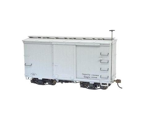 Bachmann 18' Box Car w/ Murphy Roof (Grey) (2) (On30 Scale)
