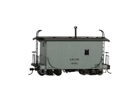 Bachmann On30 18' Logging Caboose (MOW/Grey) (On30 Scale)