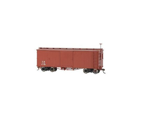 Bachmann Box Car (Oxide Red) (On30 Scale)