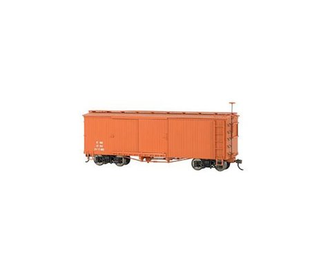 Bachmann Box Car (Mineral Red) (On30 Scale)