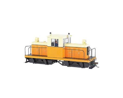 Bachmann Whitcomb 50-Ton Center Cab w/ DCC (Orange/Cream) (On30 Scale)