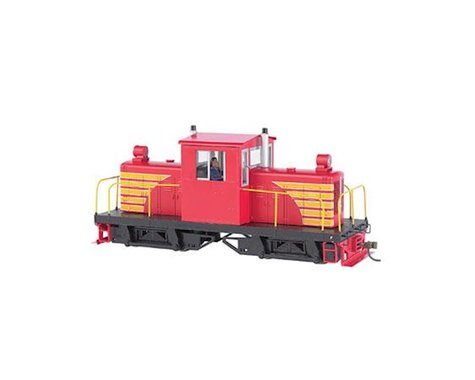 Bachmann Whitcomb 50-Ton Center Cab w/ DCC (Red w/Yellow) (On30 Scale)