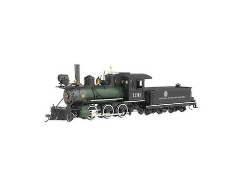 Bachmann Denver & Rio Grande Western #138 2-6-0 w/DCC (Green Boiler)