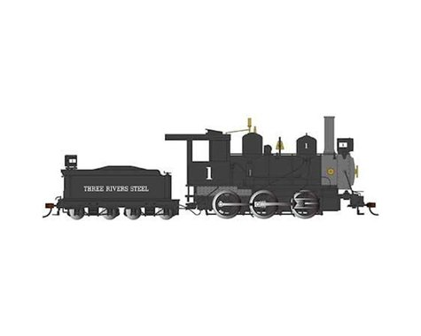 Bachmann Three Rivers Steel Engine 0-6-0 w/DCC (On30 Scale)