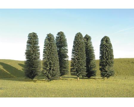 "Bachmann Scenescapes Cedar Trees (6) (5-6"")"