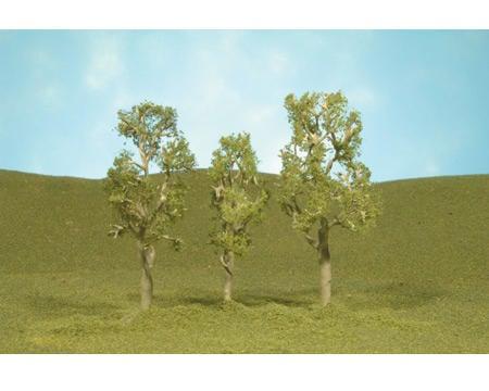 "Bachmann Scenescapes Aspen Trees (3) (3-4"")"