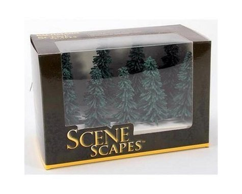 "Bachmann Scenescapes Blue Spruce Trees (6) (5-6"")"