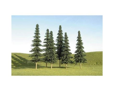 "Bachmann Scenescapes Spruce Trees (9) (3-4"")"