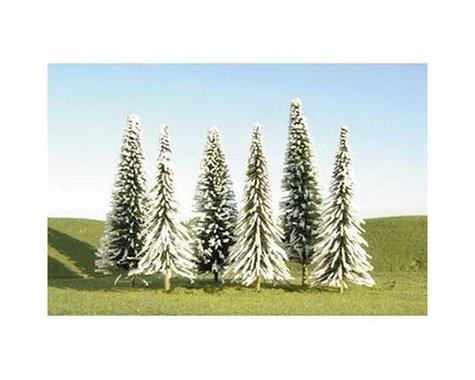 "Bachmann Scenescapes Pine Trees w/Snow (24) (5-6"")"