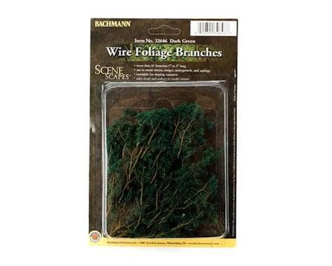 Bachmann SceneScapes Wire Foliage Branches (Dark Green)