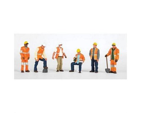 Bachmann SceneScapes Maintenance Workers (6) (HO Scale)