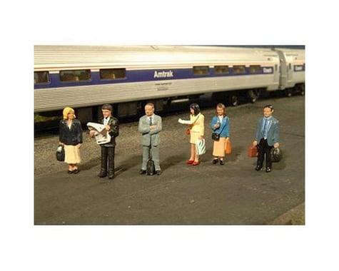 Bachmann SceneScapes Standing Platform Passengers (HO Scale)