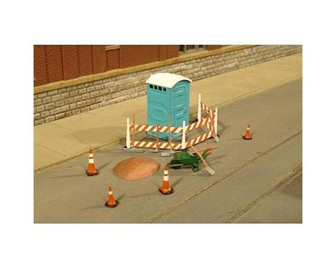 Bachmann SceneScapes Building Site Accessories (HO Scale)
