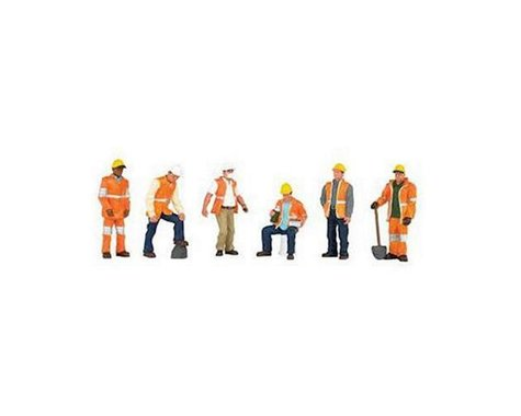 Bachmann SceneScapes Maintenance Workers (6) (O Scale)