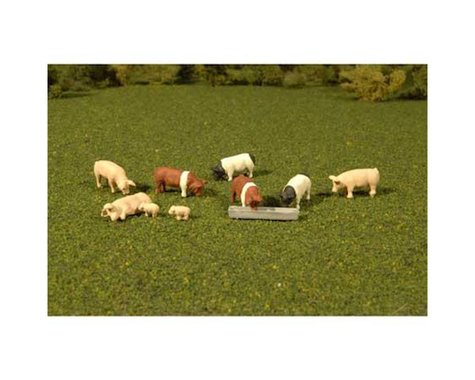 Bachmann SceneScapes Pigs (9) (O Scale)