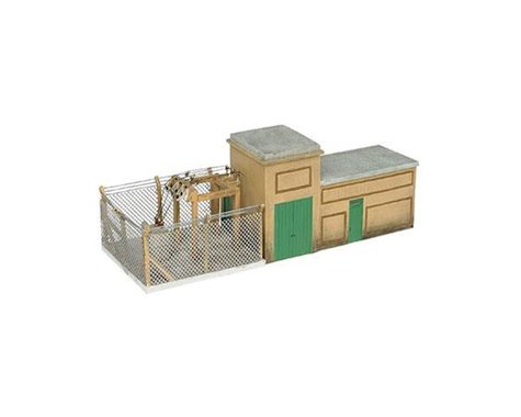Bachmann Scenescapes Electrical Substation (HO Scale)