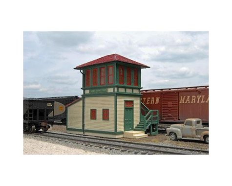 Bachmann Scenescapes Falls Junction Switch Tower (HO Scale)