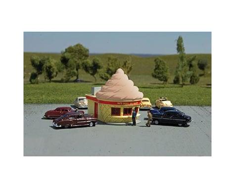 Bachmann Roadside U.S.A. Building Ice Cream Stand (N Scale)