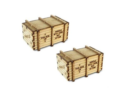 Bachmann Machinery Crates (HO Scale)
