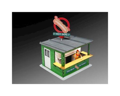 Bachmann Hot Dog Stand w Light & RotateBanner Laser-Cut Kit