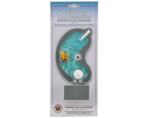 Bachmann Swimming Pool & Accessories (HO Scale)