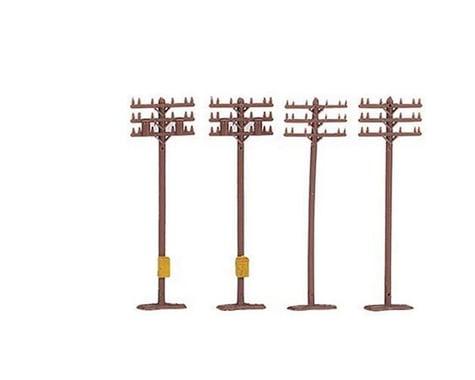 Bachmann Telephone Poles (12) (N Scale)