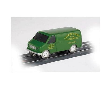 Bachmann E-Z Street Van, Castor & Sons Locksmith (O Scale)