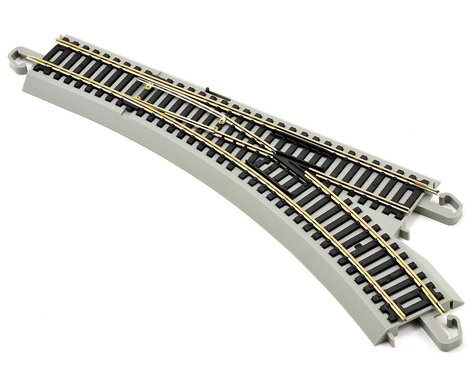 Bachmann Nickel Silver EZ Command Right-Hand Turnout w/DCC (HO Scale)