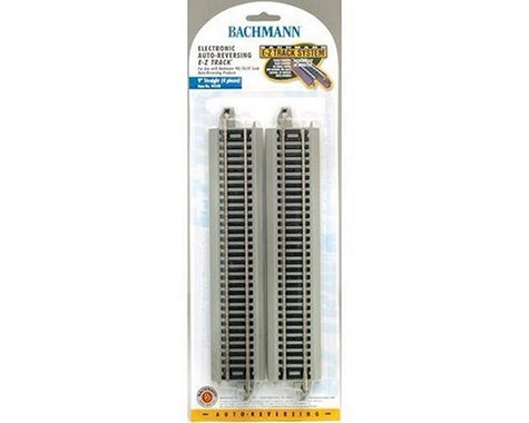 "Bachmann E-Z 9"" Straight Electronic Auto-Reversing Track (4) (HO Scale)"