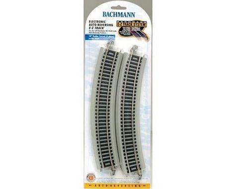 "Bachmann E-Z 18"" Radius Curved Electronic Auto-Reversing Track (4) (HO Scale)"
