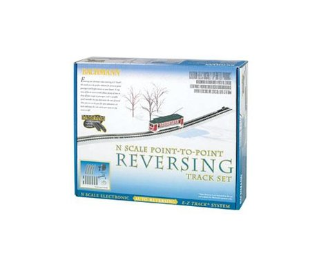 Bachmann E-Z Track Nickel Silver Auto-Reversing System (N Scale)