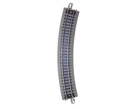 """Bachmann N 11-1/4"""" Radius Curved Nickel Silver Track (Bulk"""