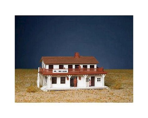 Bachmann Saloon and Barber Shop (HO Scale)