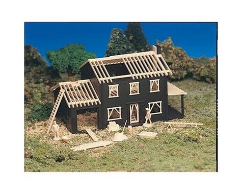 Bachmann House Under Construction (HO Scale)
