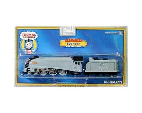 Bachmann HO Spencer the Silver Engine w/Moving Eyes