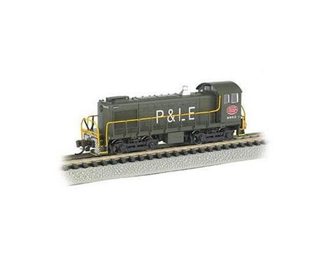 Bachmann New York Central System P&LE #8662 Alco S4 Switcher DCC
