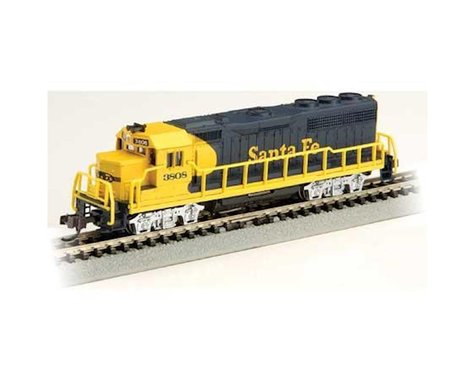 Bachmann N GP40 SF Blue Yellow #3808