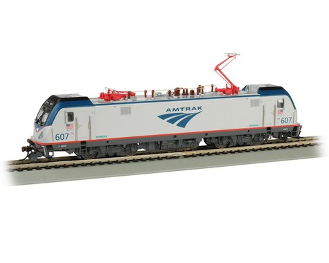 Bachmann Amtrak #607 Siemens ACS-64 HO Locomotive w/DCC Sound