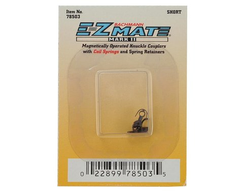 Bachmann N Magnetically Operated Short Ez Mate Mark II Center Knuckle Coupler
