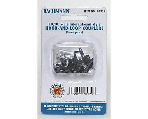 Bachmann HO Thomas Hook & Loop Coupler (3pr)
