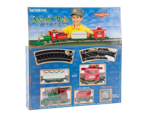 Bachmann Li'l Big Haulers North Pole Express G Train Set